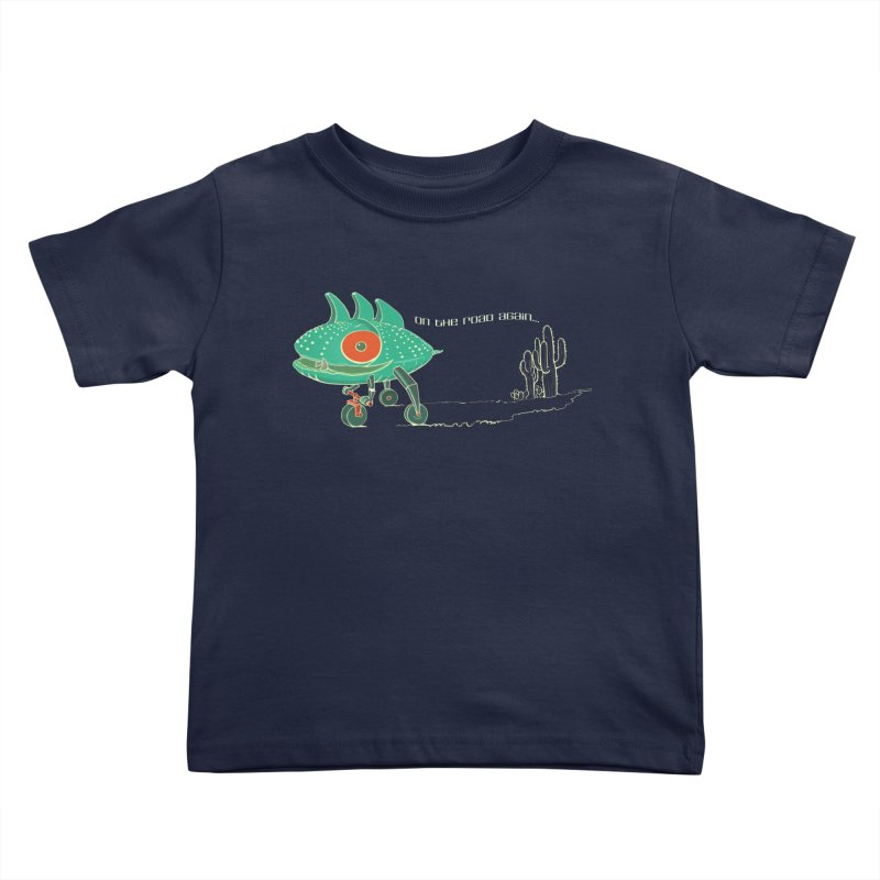 Trig: On The Road Again Kids Toddler T-Shirt by CB Design