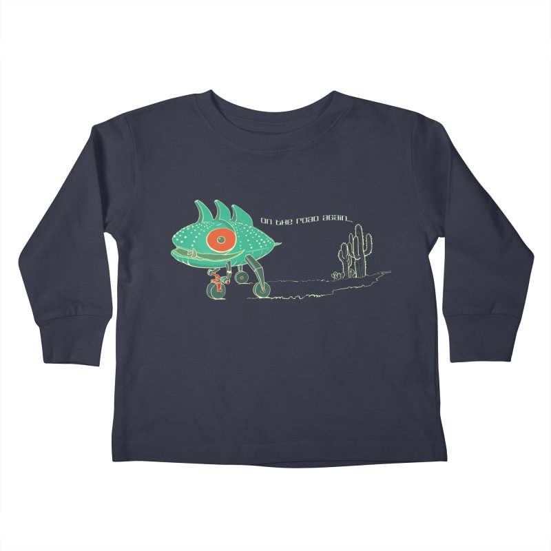Trig: On The Road Again Kids Toddler Longsleeve T-Shirt by CB Design