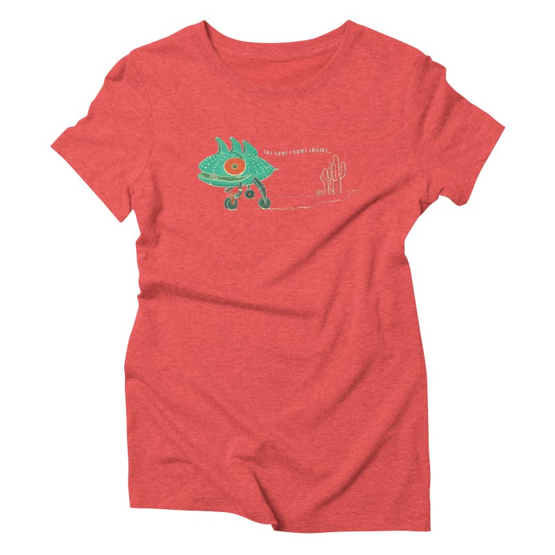Trig: On The Road Again Women's Triblend T-Shirt by CB Design