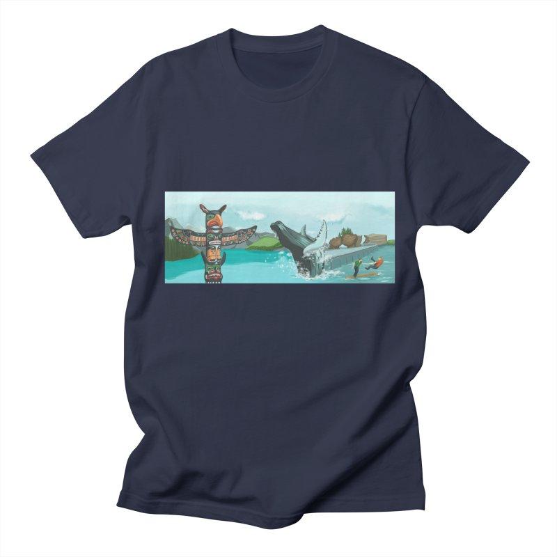 Canada's Landscape Men's Regular T-Shirt by CB Design