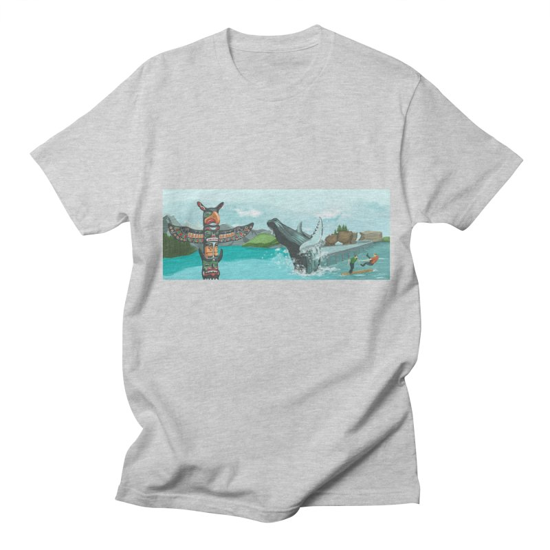 Canada's Landscape Men's Regular T-Shirt by CB Design