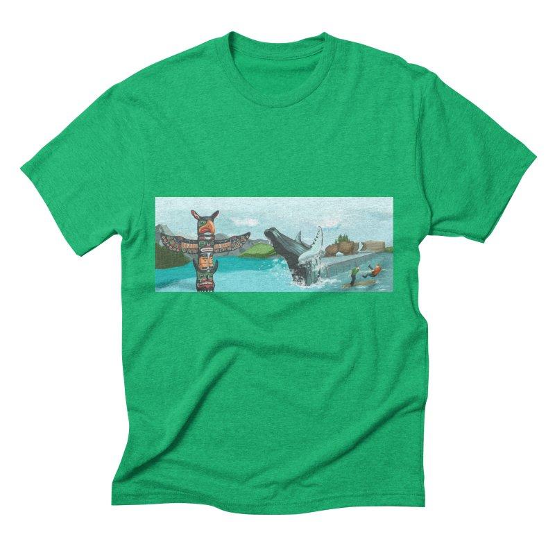 Canada's Landscape Men's Triblend T-Shirt by CB Design