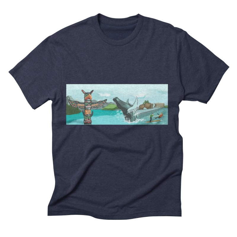 Canada's Landscape Men's Triblend T-Shirt by CB Design