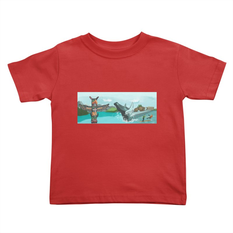 Canada's Landscape Kids Toddler T-Shirt by CB Design