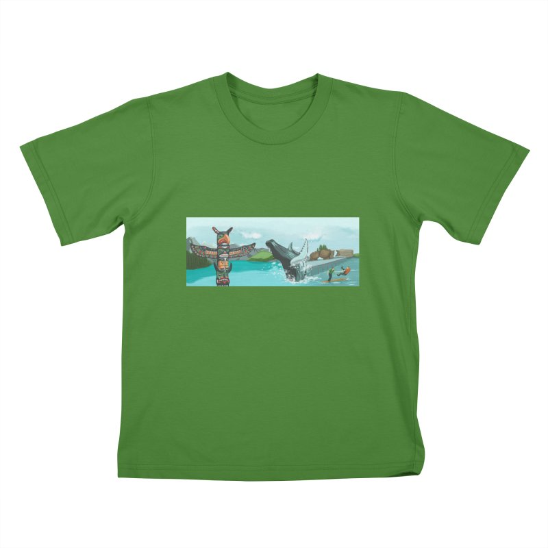 Canada's Landscape Kids T-Shirt by CB Design