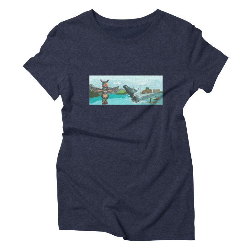 Canada's Landscape Women's Triblend T-Shirt by CB Design