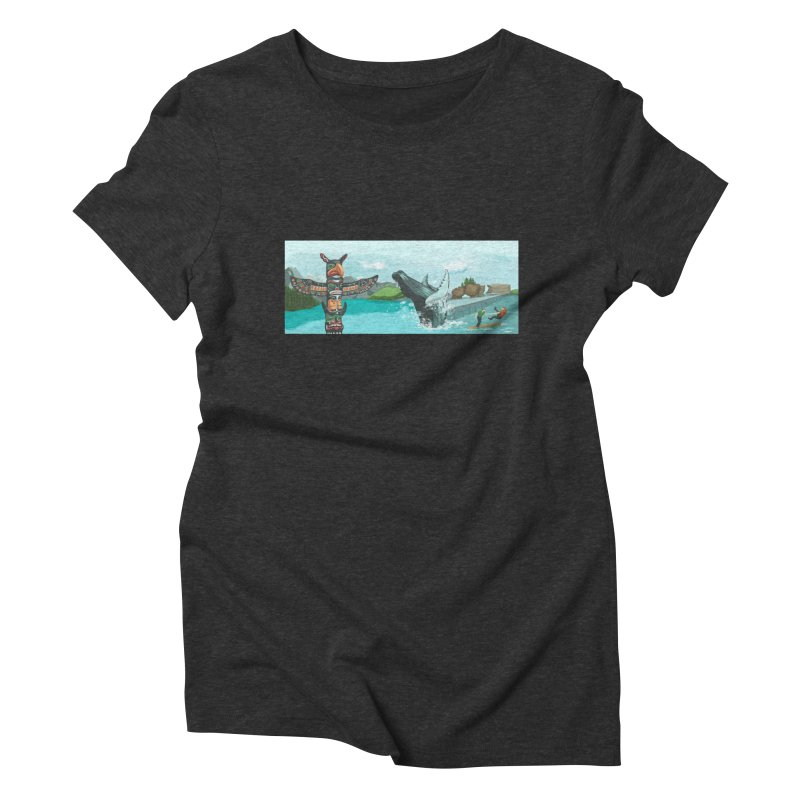Canada's Landscape Women's Triblend T-Shirt by CB Design