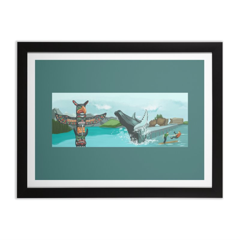 Canada's Landscape Home Framed Fine Art Print by CB Design