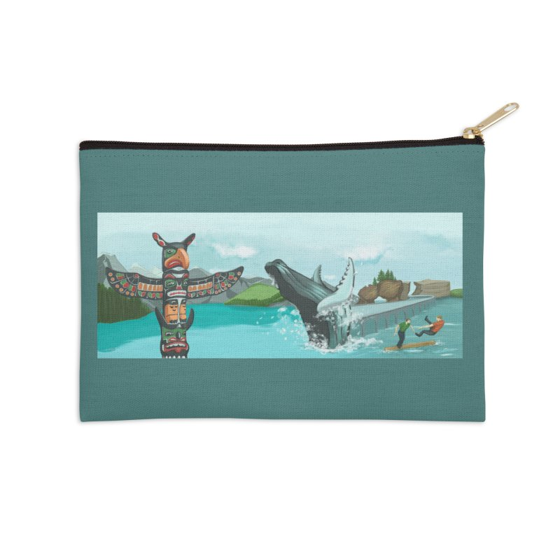 Canada's Landscape Accessories Zip Pouch by CB Design