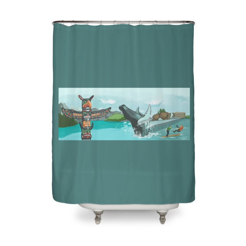 Canada's Landscape Home Shower Curtain by CB Design