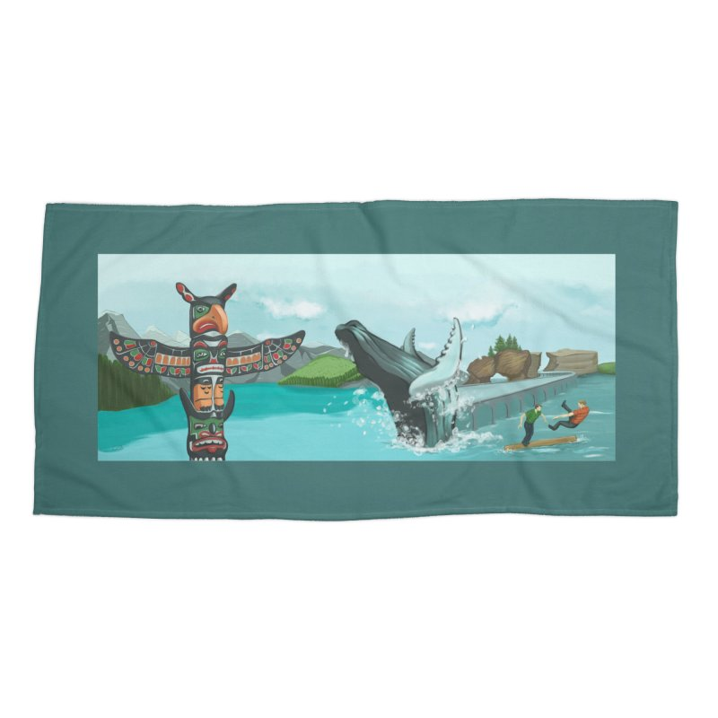Canada's Landscape Accessories Beach Towel by CB Design