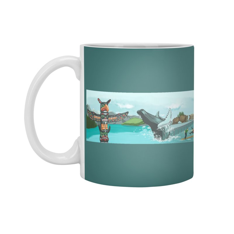 Canada's Landscape Accessories Mug by CB Design