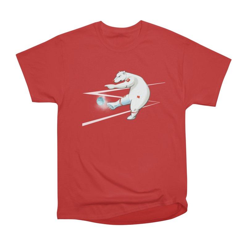 Soccer Bear Women's Classic Unisex T-Shirt by CB Design