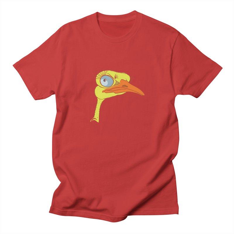 Ostrich Women's Regular Unisex T-Shirt by CB Design