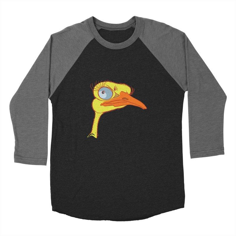 Ostrich Women's Baseball Triblend T-Shirt by CB Design