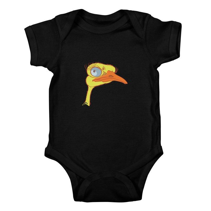 Ostrich Kids Baby Bodysuit by CB Design