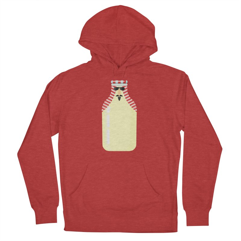 Milk Sheikh/ tees and sweaters Men's French Terry Pullover Hoody by CDFBstuff