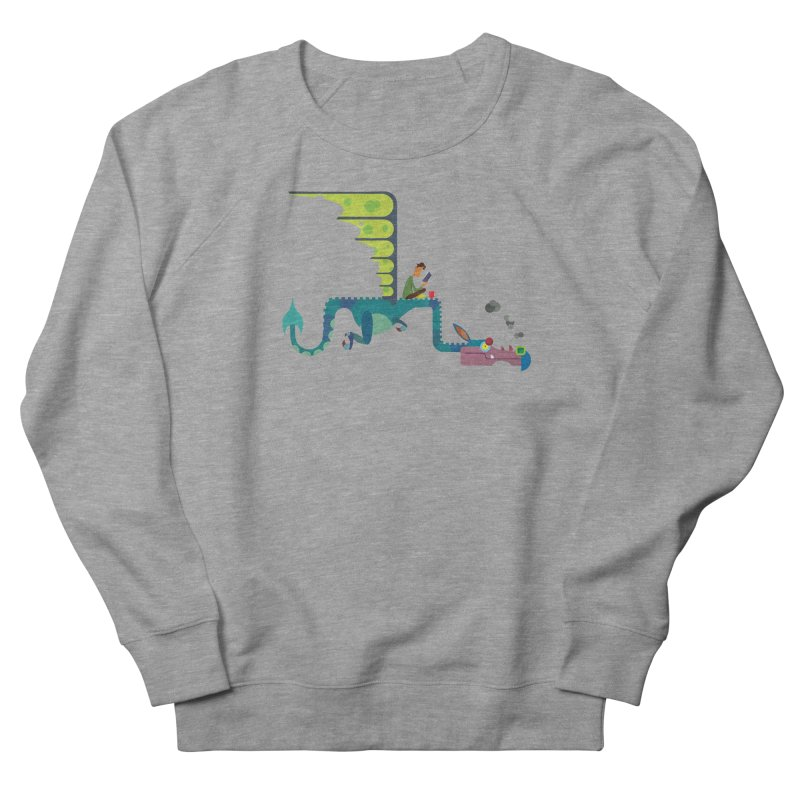 Book Dragon/ tees and sweaters Women's French Terry Sweatshirt by CDFBstuff