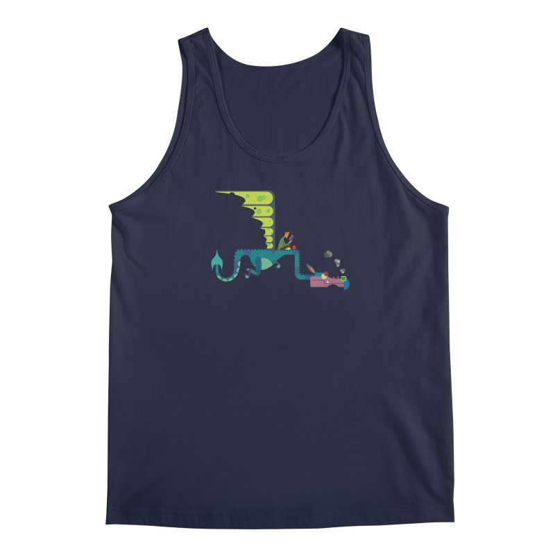Book Dragon/ tees and sweaters Men's Regular Tank by CDFBstuff