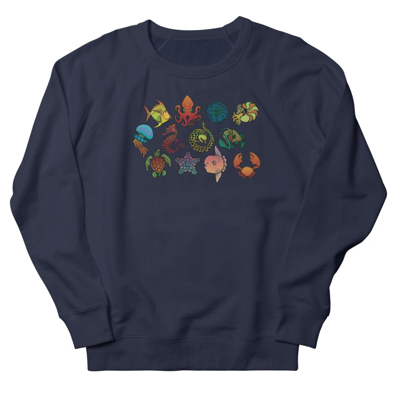 Sealife/ tees and sweaters Women's French Terry Sweatshirt by CDFBstuff