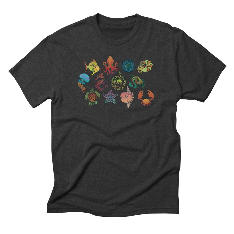 Sealife/ tees and sweaters Men's Triblend T-Shirt by CDFBstuff