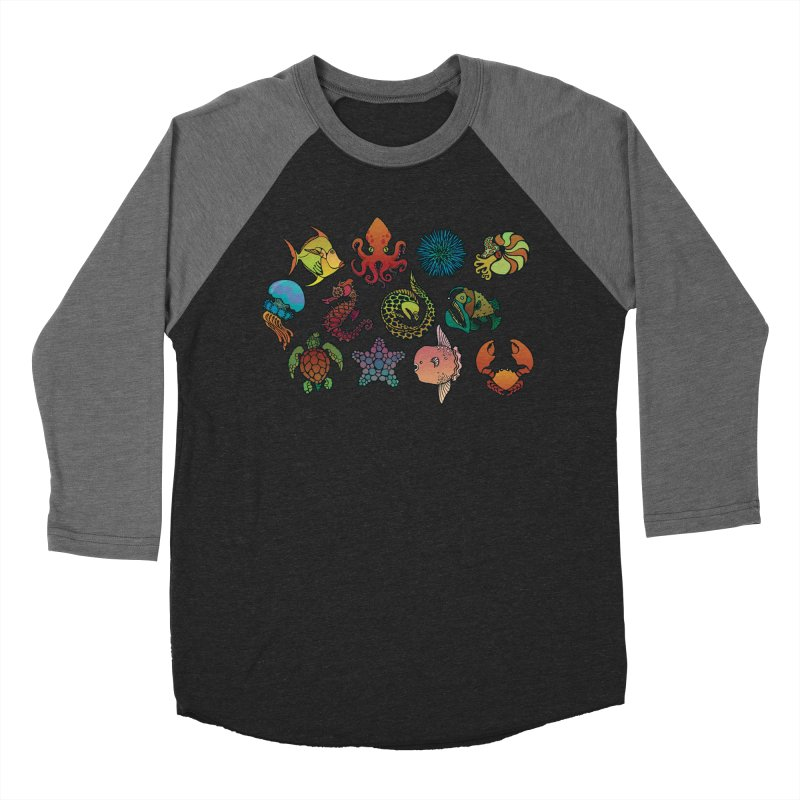 Sealife/ tees and sweaters Men's Baseball Triblend Longsleeve T-Shirt by CDFBstuff