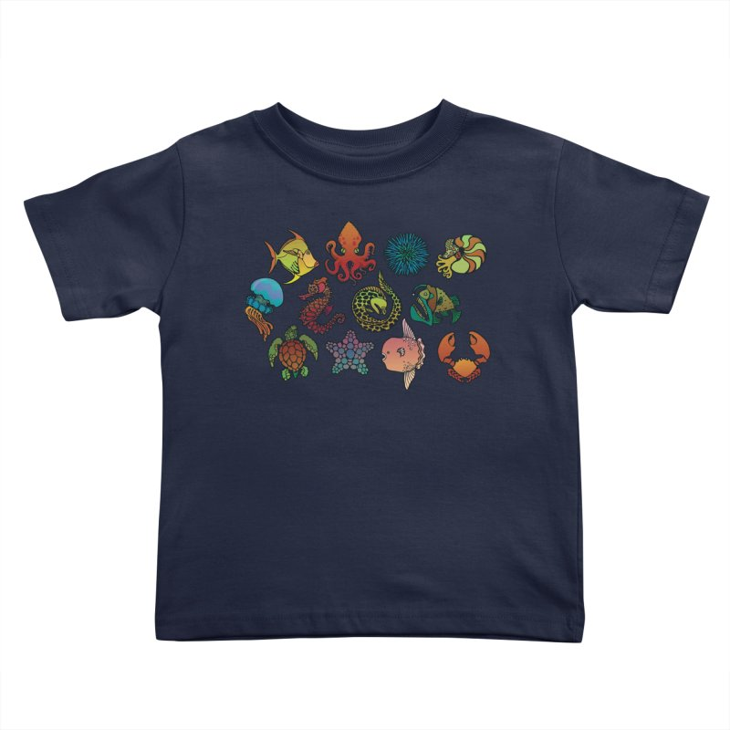 Sealife/ tees and sweaters Kids Toddler T-Shirt by CDFBstuff