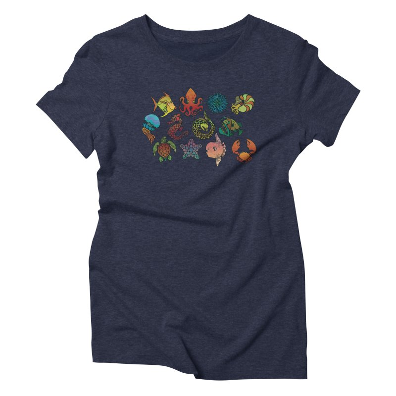 Sealife/ tees and sweaters Women's Triblend T-Shirt by CDFBstuff