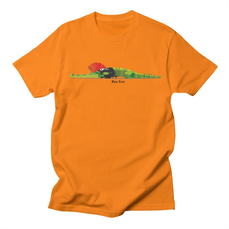 Pun Croc small/ tees and sweaters (light colours) Men's Regular T-Shirt by CDFBstuff