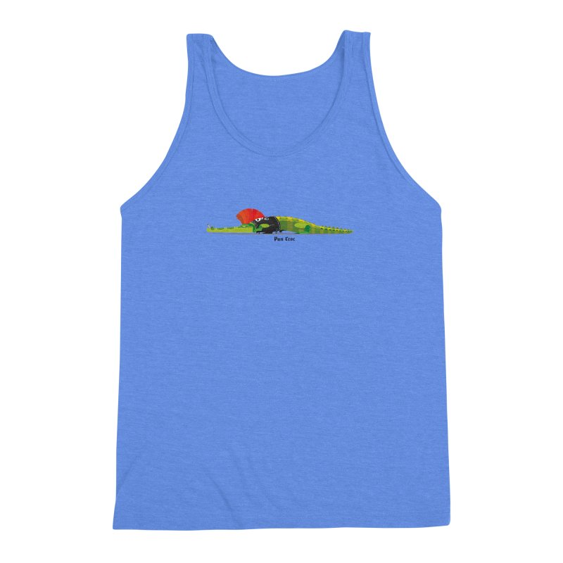 Pun Croc small/ tees and sweaters (light colours) Men's Triblend Tank by CDFBstuff