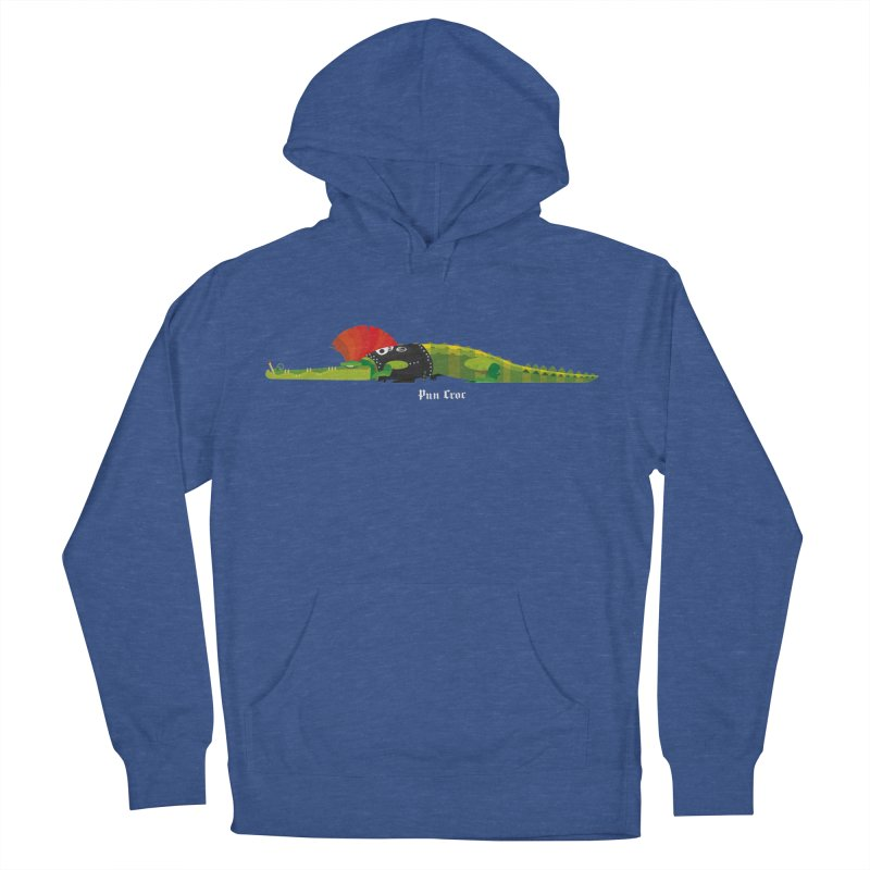 Pun Croc small/ tees and sweaters (dark colours) Men's French Terry Pullover Hoody by CDFBstuff