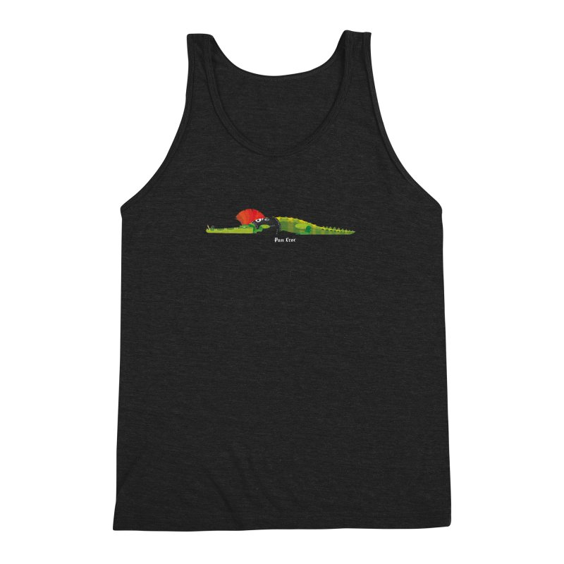 Pun Croc small/ tees and sweaters (dark colours) Men's Triblend Tank by CDFBstuff