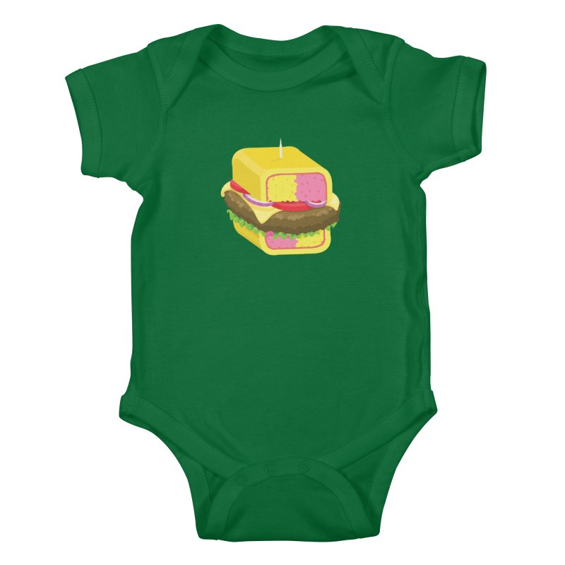 Battenburger/ tees and sweaters Kids Baby Bodysuit by CDFBstuff