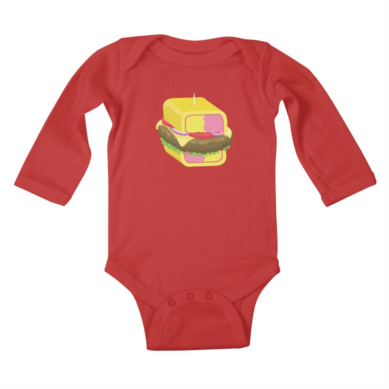 Battenburger/ tees and sweaters Kids Baby Longsleeve Bodysuit by CDFBstuff