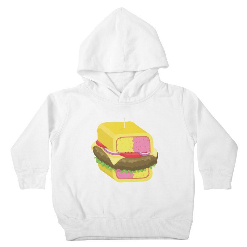 Battenburger/ tees and sweaters Kids Toddler Pullover Hoody by CDFBstuff