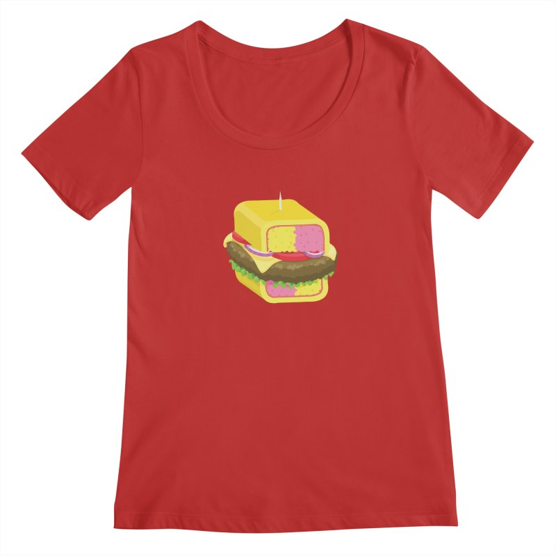 Battenburger/ tees and sweaters Women's Regular Scoop Neck by CDFBstuff