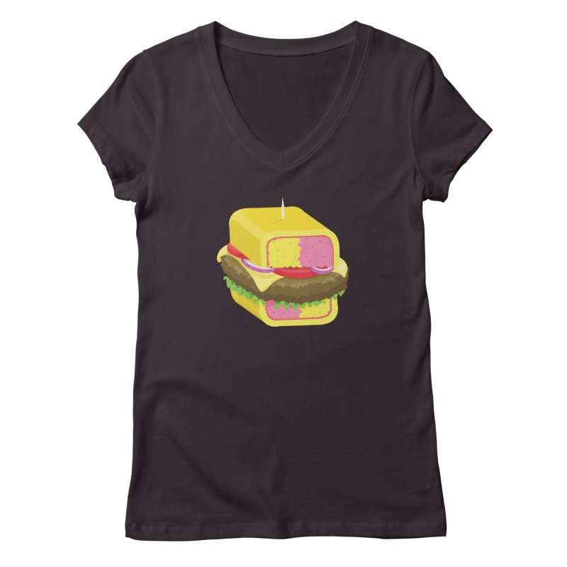 Battenburger/ tees and sweaters Women's Regular V-Neck by CDFBstuff