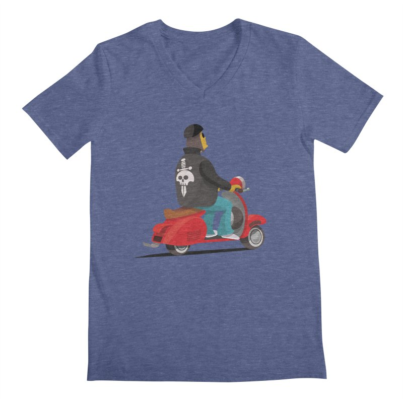 Low Rider/ tees and sweaters Men's Regular V-Neck by CDFBstuff