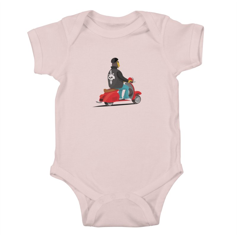 Low Rider/ tees and sweaters Kids Baby Bodysuit by CDFBstuff