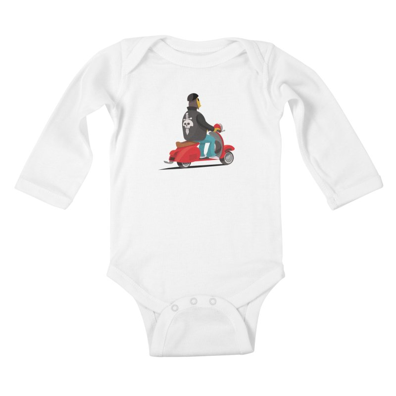 Low Rider/ tees and sweaters Kids Baby Longsleeve Bodysuit by CDFBstuff