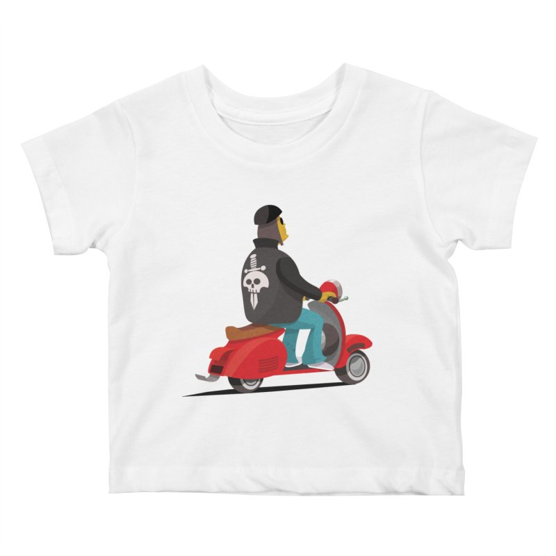Low Rider/ tees and sweaters Kids Baby T-Shirt by CDFBstuff