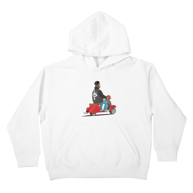 Low Rider/ tees and sweaters Kids Pullover Hoody by CDFBstuff