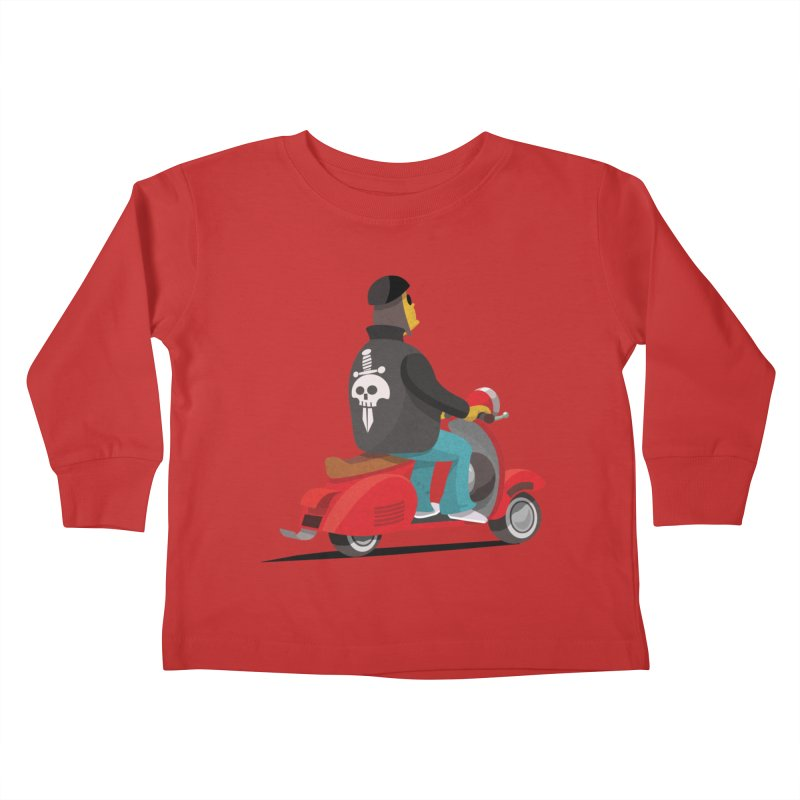 Low Rider/ tees and sweaters Kids Toddler Longsleeve T-Shirt by CDFBstuff