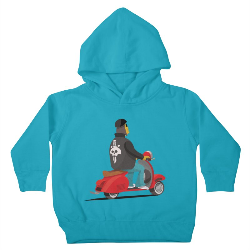 Low Rider/ tees and sweaters Kids Toddler Pullover Hoody by CDFBstuff