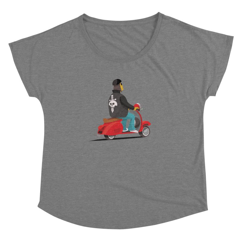 Low Rider/ tees and sweaters Women's Dolman Scoop Neck by CDFBstuff