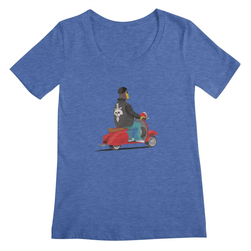 Low Rider/ tees and sweaters Women's Regular Scoop Neck by CDFBstuff