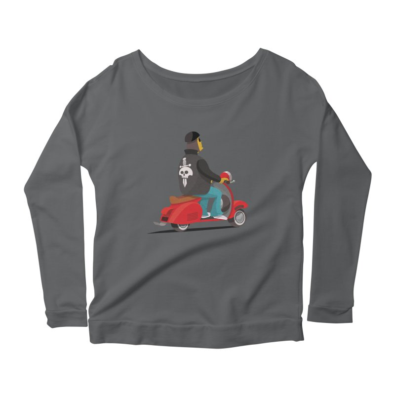 Low Rider/ tees and sweaters Women's Scoop Neck Longsleeve T-Shirt by CDFBstuff