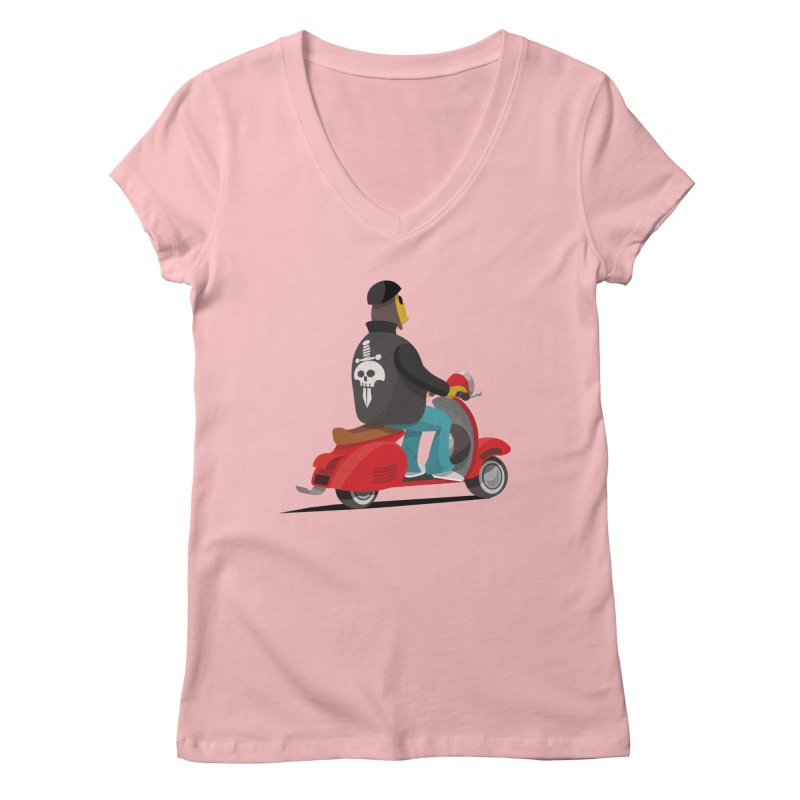 Low Rider/ tees and sweaters Women's Regular V-Neck by CDFBstuff