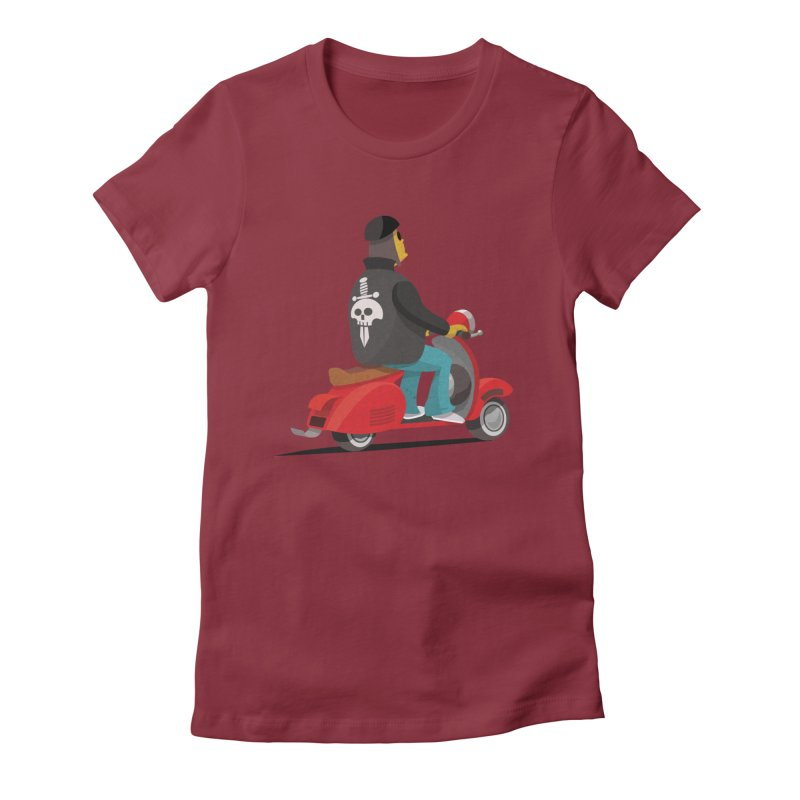 Low Rider/ tees and sweaters Women's Fitted T-Shirt by CDFBstuff