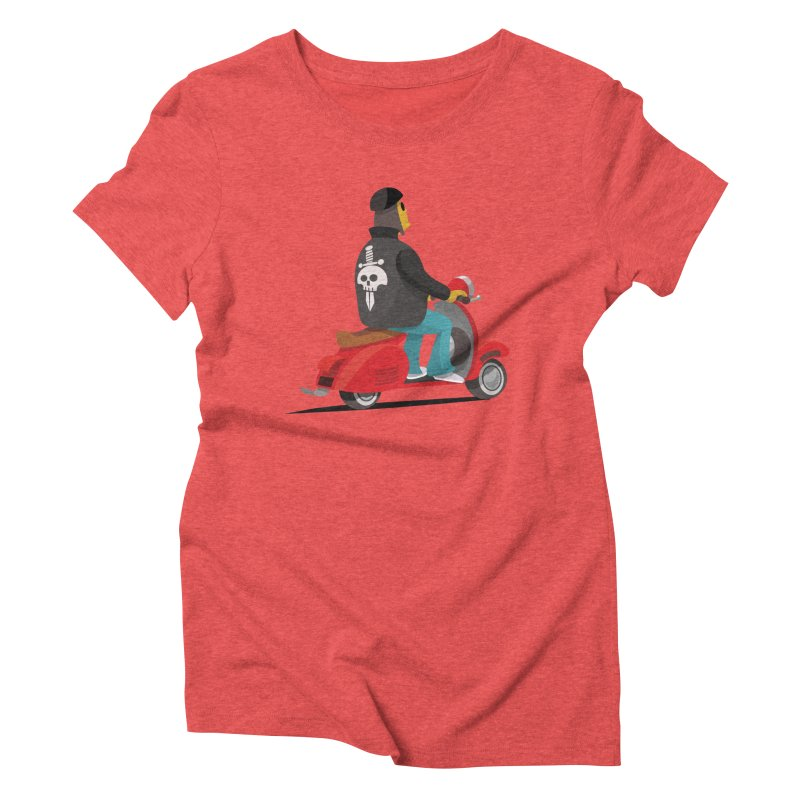 Low Rider/ tees and sweaters Women's Triblend T-Shirt by CDFBstuff